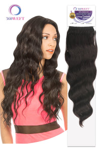 360 WEFT - Brazilian Knot Weft Silky Ocean Wave 100% Human Hair 18 Inch 11 Wefts BKWHSO18(11) 360 WEFT Weaves