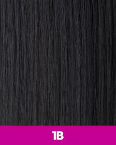 360 WEFT - Brazilian Knot Weft Straight 100% Human Hair Remi 14 Inch 11 Wefts BKWH14(11) 1B / 11 / 14 inches 360 WEFT Weaves