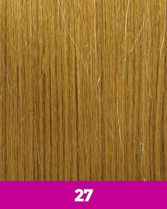 360 WEFT - Brazilian Knot Weft Straight 100% Human Hair Remi 14 Inch 11 Wefts BKWH14(11) 27 / 11 / 14 inches 360 WEFT Weaves