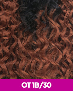 New Born Free - Brazilian Black Label 100% Human Hair Ocean Wave 10 Blo10 Ot1B/30 / 10 Inches Human Hair Remi Weaves