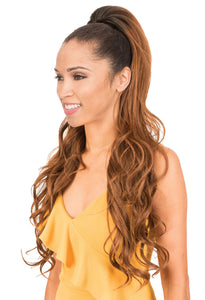 New Born Free Synthetic Drawstring Long And Full Ponytail - PLF04
