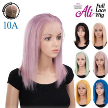 ALI 10A FULL LACE BOB 16 (longest hair length 12) Human Hair Full Lace Wig