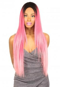 ALI 10A Full Lace Wig - Straight 24 (hair length 18) - A10AFS24 Human Hair Full Lace Wig