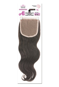 Brazilian Color Bundle 4x4 Lace Closure (10 12 14) - Body wave BBC44D10 Top Closures