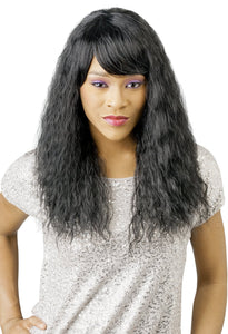 CUTIE COLLECTION CURLY LONG KK/TOYO SYNTHETIC HAIR WIG CT48 Synthetic Hair Wigs