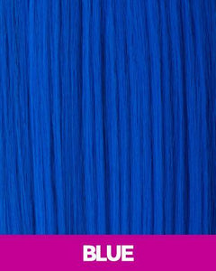 CUTIE COLLECTION MEDIUM LAYERED KK/TOYO SYNTHETIC HAIR WIG CT07 BLUE Synthetic Hair Wigs