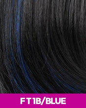 CUTIE COLLECTION MEDIUM LAYERED KK/TOYO SYNTHETIC HAIR WIG CT07 FT1B/BLUE Synthetic Hair Wigs