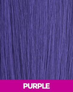CUTIE COLLECTION MEDIUM LAYERED KK/TOYO SYNTHETIC HAIR WIG CT07 PURPLE Synthetic Hair Wigs