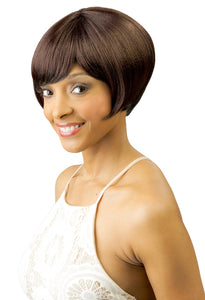CUTIE COLLECTION MUSHROOM BOB SHORT KK/TOYO SYNTHETIC HAIR WIG CT65 Synthetic Hair Wigs