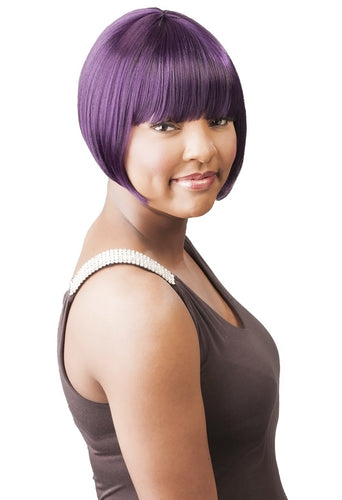 CUTIE COLLECTION SHORT BOB HIGH HEAT RESISTANT FIBER SYNTHETIC HAIR WIG CT63 Synthetic Hair Wigs