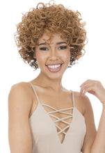 CUTIE COLLECTION SHORT CURLY HIGH HEAT RESISTANT FIBER SYNTHETIC HAIR WIG CT132 Synthetic Hair Wigs