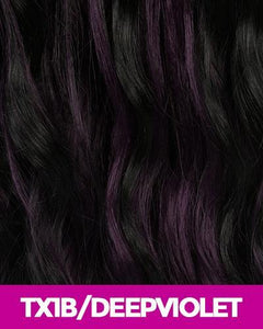 CUTIE COLLECTION SYNTHETIC HAIR WIG CT79 TX1B/DEEPVIOLET Synthetic Hair Wigs