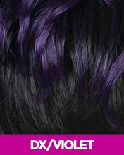 CUTIE COLLECTION UNBALANCED CURLY SHORT KK/TOYO SYNTHETIC HAIR WIG CT64 DX/VIOLET Synthetic Hair Wigs