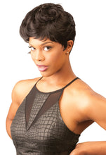 CUTIE COLLECTION UNBALANCED CURLY SHORT KK/TOYO SYNTHETIC HAIR WIG CT64 Synthetic Hair Wigs