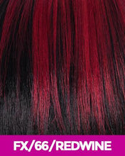 CUTIE COLLECTION UNBALANCED SHORT KK/TOYO SYNTHETIC HAIR WIG CT44 FX/66/REDWINE Synthetic Hair Wigs