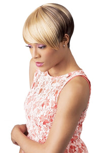 CUTIE COLLECTION UNBALANCED SHORT KK/TOYO SYNTHETIC HAIR WIG CT44 Synthetic Hair Wigs