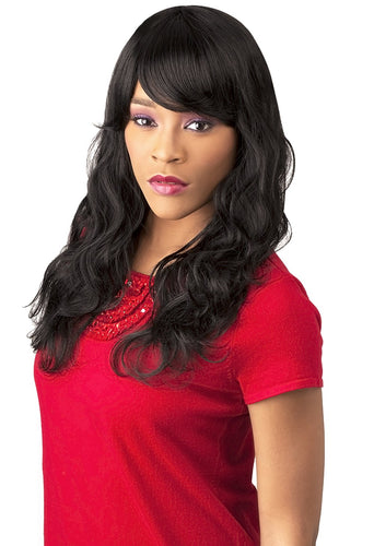CUTIE COLLECTION WAVY LONG KK/TOYO SYNTHETIC HAIR WIG CT46 Synthetic Hair Wigs