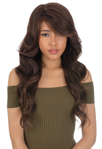 CUTIE COLLECTION WAVY X-LONG HIGH HEAT RESISTANT FIBER SYNTHETIC HAIR WIG CT137 Synthetic Hair Wigs