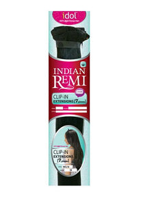 IDOL INDIAN REMI TOP CLOSURE CLIP IN EXTENSION - INCL18 Human Hair Clip In Extension