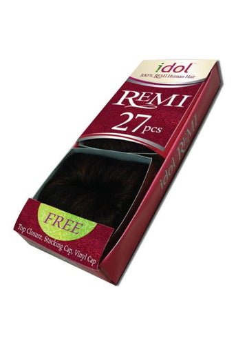 IDOL REMI HUMAN HAIR WEAVE 27PCS (1 2 3) (1/84) - IR27 Human Hair Weaves
