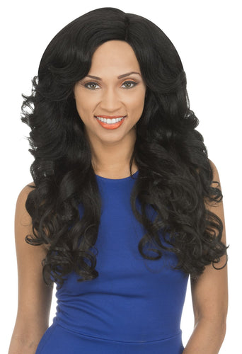 MAGIC LACE CURVED PART SYNTHETIC HAIR WIG MLC180 Synthetic Hair Lace Front Wigs