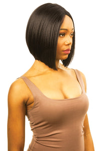 MAGIC LACE CURVED PART SYNTHETIC HAIR WIG MLC198 Synthetic Hair Lace Front Wigs