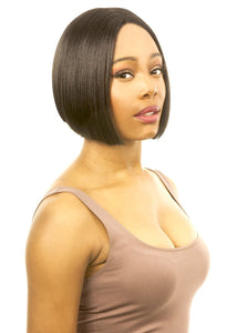 MAGIC LACE CURVED PART SYNTHETIC HAIR WIG MLC199 Synthetic Hair Lace Front Wigs
