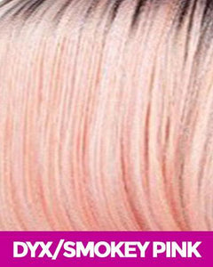 MAGIC LACE CURVED PART SYNTHETIC HAIR WIG MLC203 DYX/SMOKYPINK Synthetic Hair Lace Front Wigs