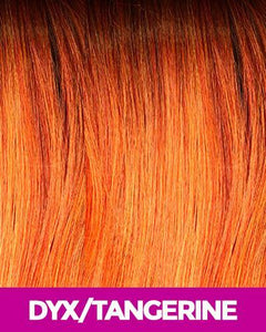 MAGIC LACE CURVED PART SYNTHETIC HAIR WIG MLC203 DYX/TANGERINE Synthetic Hair Lace Front Wigs