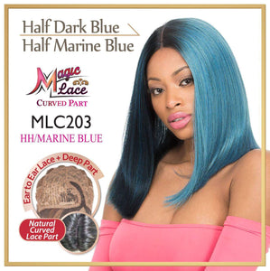 MAGIC LACE CURVED PART SYNTHETIC HAIR WIG MLC203 Synthetic Hair Lace Front Wigs