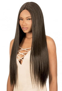 Magic Lace Human Hair Blend Wig - Deep & Free Part - MLDHS Human Hair Premium Blend Wigs