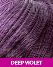MAGIC LACE SYNTHETIC HAIR BRAID WIG MLB35 - BOUNCY TWIST BOB DEEP_VIOLET Synthetic Hair Lace Front Wigs
