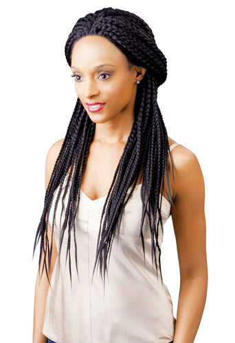 MAGIC LACE SYNTHETIC HAIR FRONT WIG MLB21 - BOX BRAID Synthetic Hair Lace Front Wigs