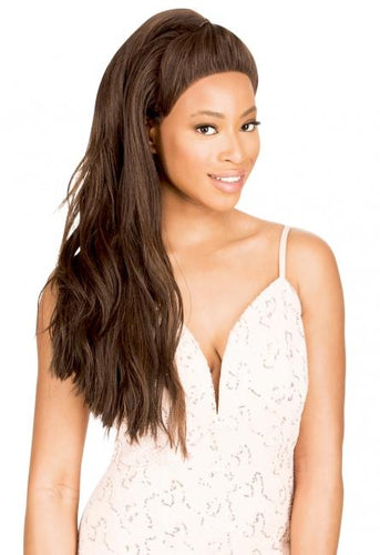 MAGIC LACE WIG U-PART WITH HALF UPDO 61 - MLUT61 Synthetic Hair Lace Front Wigs