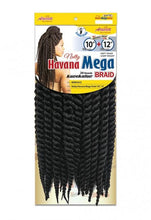 Natty Havana Mega Twist 10 (1/50 12 Strands) Box Braids