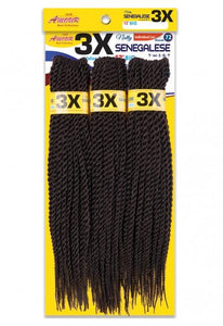 Natty Senegal Twist Big 12 (Double Pack 1/100) Box Braids
