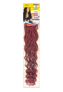NATTY WAVY BOX BRAIDS LOOSE WAVY TIPS 24 (1/50) 20 STRANDS NBWL24 Box Braids