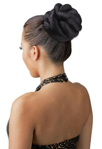 NEW BORN FREE CRULLER BUN -CP87 Drawstring Ponytail