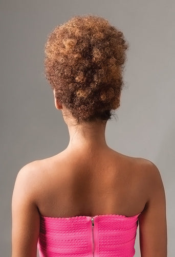 NEW BORN FREE DRAWSTRING PONYTAIL AFRO 0348 FREESTYLE AFRO Drawstring Ponytail Afro