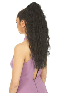 NEW BORN FREE DRAWSTRING PONYTAIL AFRO 0370 MILEY Drawstring Ponytail Afro