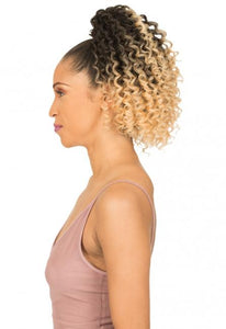 New Born Free Drawstring Ponytail - Cookie 0374 Drawstring Ponytail