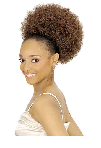 NEW BORN FREE DRAWSTRING PONYTAIL EFFY AFRO 0271 Drawstring Ponytail Afro