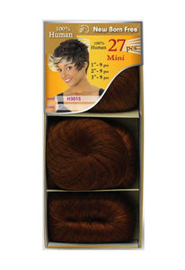 NEW BORN FREE - Human Hair Weave - H27 GOLD (1/82) - H301S Human Hair Weaves