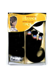 NEW BORN FREE - HUMAN HAIR WEAVE - FREE STYLE 31 PCS - HS31 Human Hair Weaves