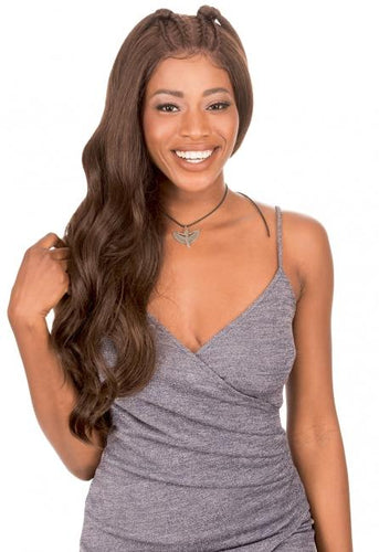 New Born Free Magic Lace BRAID WIG 37 - MLB37 Synthetic Hair Lace Front Wigs