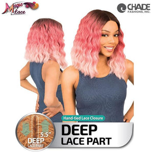 New Born Free Magic Lace Deep Part Lace Wig 16 - MLD16 Synthetic Hair Lace Front Wigs