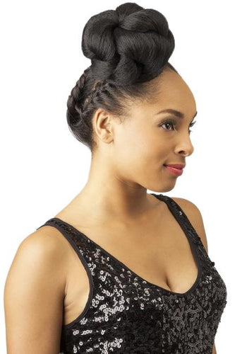 NEW BORN FREE STAR BUN - CP91 Drawstring Ponytail