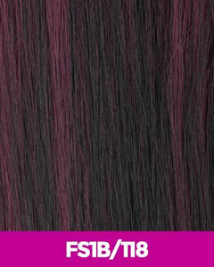 NEW BORN FREE SYNTHETIC HAIR HALF WIG 1309F MENA FS1B/118 Synthetic Hair Half Wigs