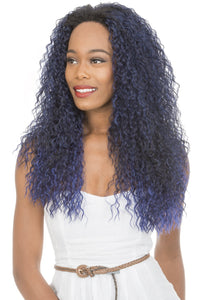 NEW BORN FREE SYNTHETIC HAIR HALF WIG VEE 4042F Synthetic Hair Half Wigs