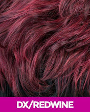 NEW BORN FREE SYNTHETIC HAIR HALF WIG VEE 4042F DX/RED_WINE Synthetic Hair Half Wigs